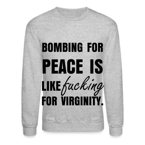 Bombing - Crewneck Sweatshirt
