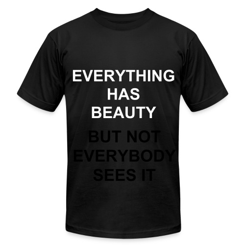 Beauty - Men's Fine Jersey T-Shirt