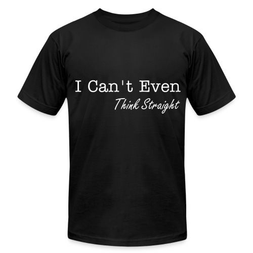 Think Straight - Men's Fine Jersey T-Shirt