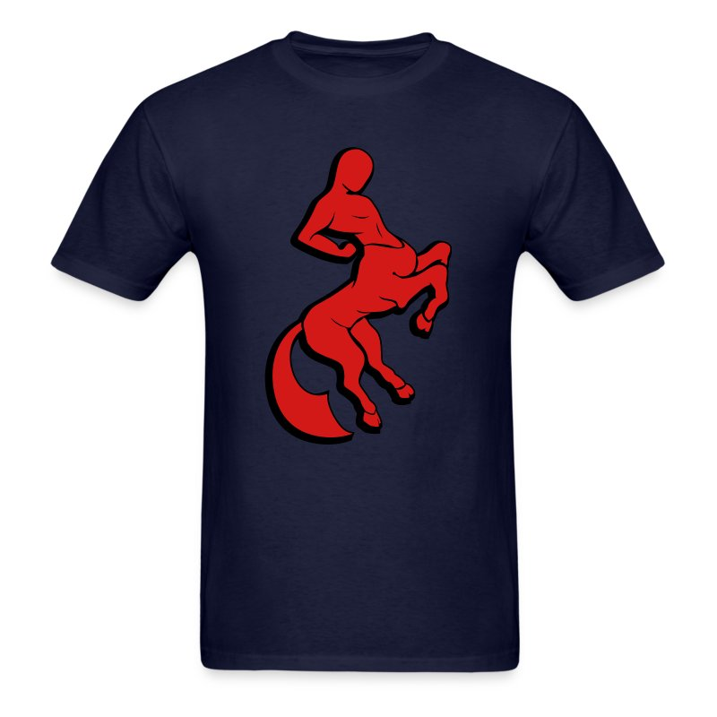 Centaur (Red/Black) Men's Standard Weight T-Shirt - Men's T-Shirt
