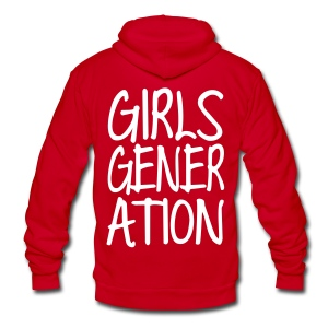 [SNSD] GIRLSGENERATION - Unisex Fleece Zip Hoodie by American Apparel