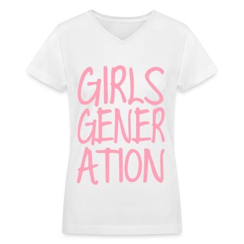 [SNSD] GIRLSGENERATION - Women's V-Neck T-Shirt