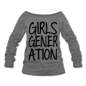 [SNSD] GIRLSGENERATION - Women's Wideneck Sweatshirt