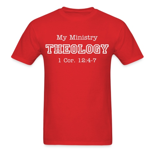 My Ministry THEOLOGY - Men's T-Shirt