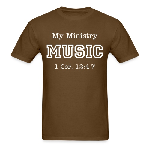 My Ministry MUSIC - Men's T-Shirt