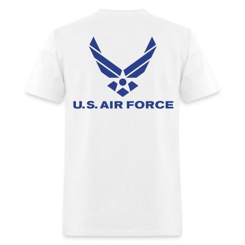NO GUTS NO GLORY (AIRFORCE) - Men's T-Shirt