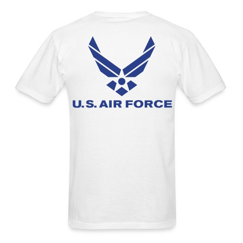 NO GUTS NO GLORY (AIRFORCE) - Men's T-Shirt