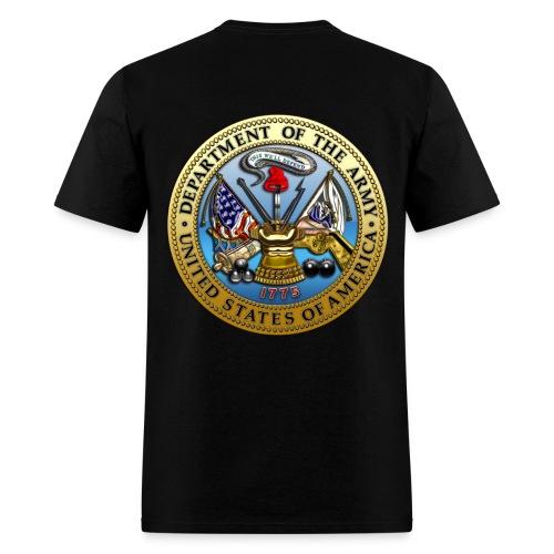 NO GUTS NO GLORY (ARMY) - Men's T-Shirt
