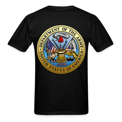 NO GUTS NO GLORY (ARMY) - Men's T-Shirt