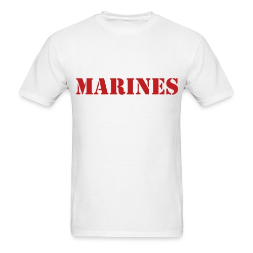 THE FEW. THE PROUD.THE MARINES - Men's T-Shirt