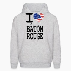 i love baton rouge Hoodies