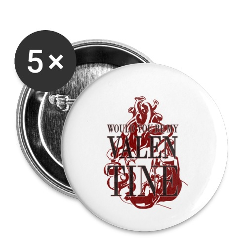 Be my valentine - Small Buttons