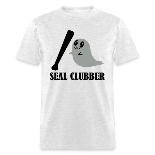 Killin' baby seals (cadence) - Men's T-Shirt
