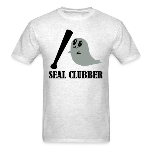 Killin' baby seals (cadence) - Men's T-Shirt