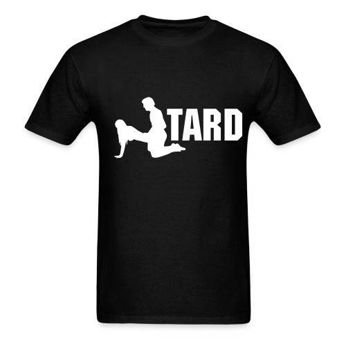 Fucktard (black) - Men's T-Shirt