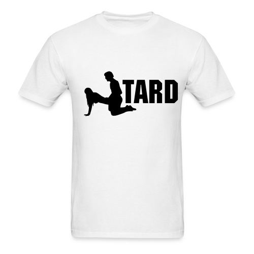 Fucktard (white) - Men's T-Shirt