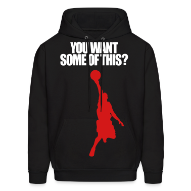 Baskeball player Hoodies
