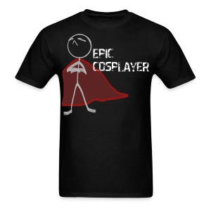 Epic Cosplayer Men's Standard Fit - Black - Men's T-Shirt