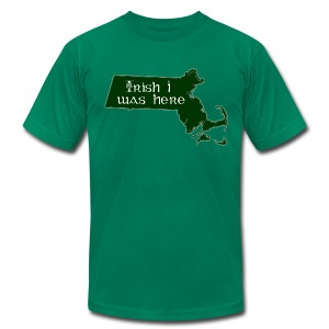 Irish I was here - Men's T-Shirt by American Apparel