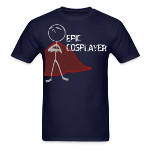 Epic Cosplayer Men's Standard Fit - Navy Blue - Men's T-Shirt