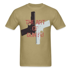 The Art of Gun Fu Men's Standard Fit - Men's T-Shirt