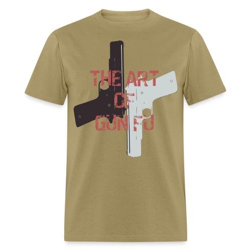 The Art of Gun Fu Men's Standard Fit - Men's T-Shirt