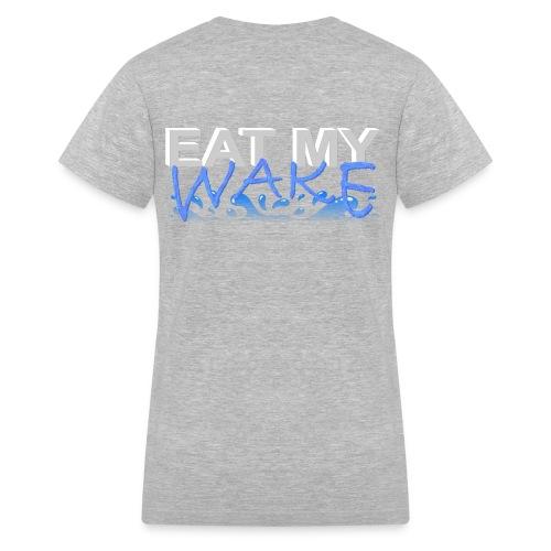 Eat My Wake - Swimming Shirt - Women's V-Neck T-Shirt