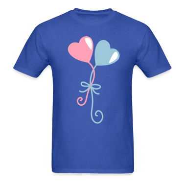 heart balloons entwined together T-Shirts