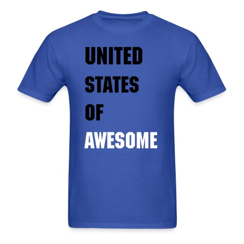 United States of Awesome - Men's T-Shirt