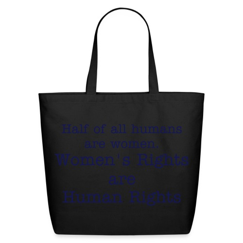 Women's Rights/Human Rights bag - Eco-Friendly Cotton Tote