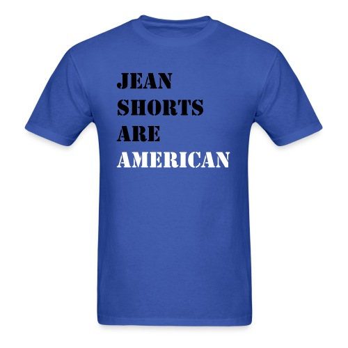Jean Shorts - Men's T-Shirt