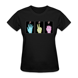 Rock Paper Scissors V2 (Raster) Ladies T - Women's T-Shirt