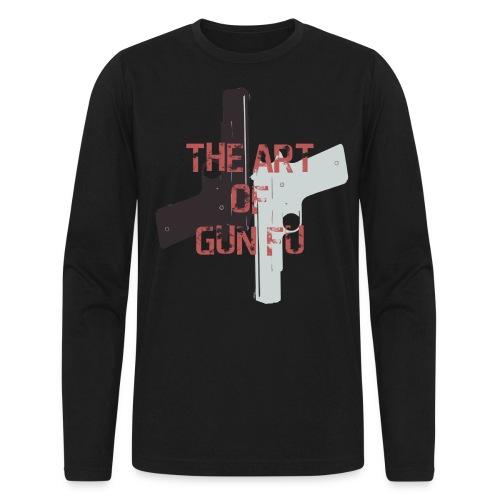 The Art of Gun Fu Men's Long Sleeve - Men's Long Sleeve T-Shirt by Next Level