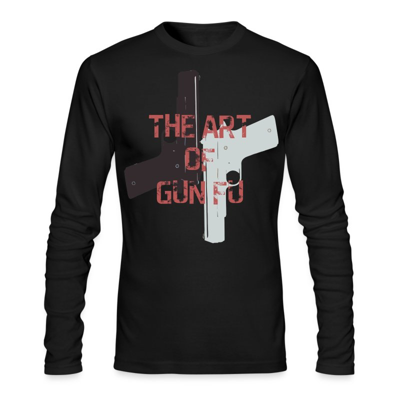 The Art of Gun Fu Men's Long Sleeve - Men's Long Sleeve T-Shirt by Next Level