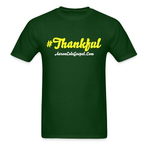 #Thankful Tee - Men's T-Shirt