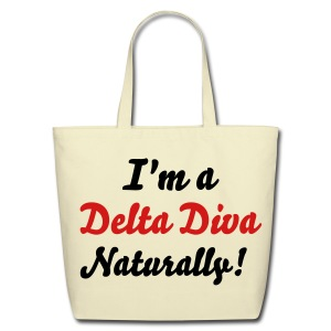 SN&LI! Delta Diva Tote - Eco-Friendly Cotton Tote