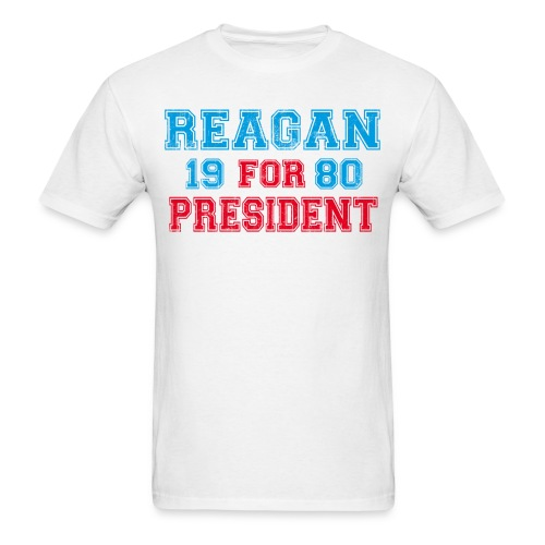 Reagan for Prez - Mens Tee - Men's T-Shirt