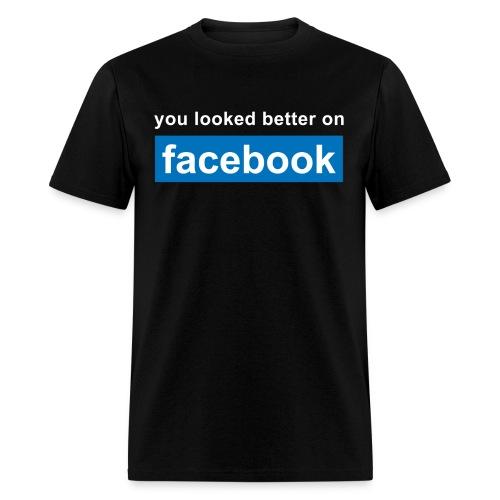 Facebook - Mens Tee - Men's T-Shirt