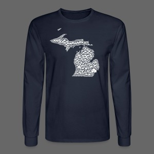 Michigan Shamrocks - Men's Long Sleeve T-Shirt