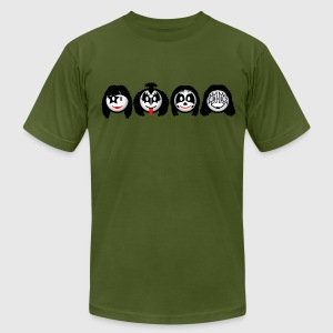 Smile Rock - Smiley Icons (dd print) T-Shirts - Men's T-Shirt by American Apparel
