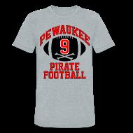 T-Shirts ~ Unisex Tri-Blend T-Shirt ~ J.J. WATT H.S. THROWBACK