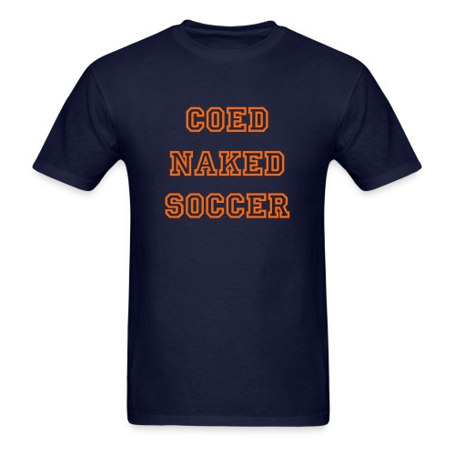 Men's T-Shirt - Promotional Shirt for Clayton State Men's Club Soccer. $5.10 of every sale goes to help the team.