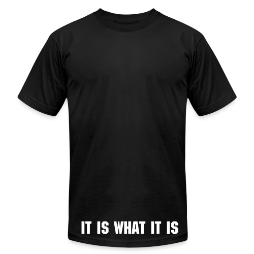 It really is - Men's  Jersey T-Shirt
