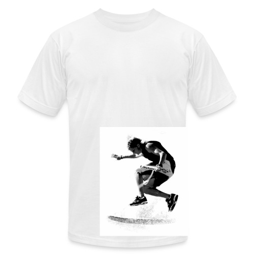 Grant Roberts Sig - Men's T-Shirt by American Apparel