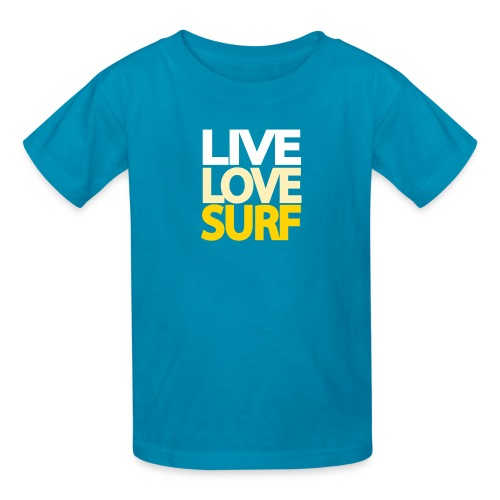Live Love Surf Kids' Shirt - Kids' T-Shirt