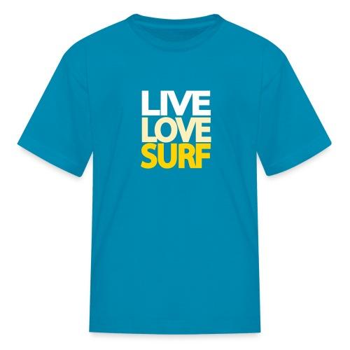 Live Love Surf Kids' Shirt - Kids' T-Shirt