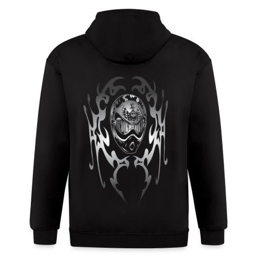 Mens MOTOCROSS Sweatshirt - Men's Zip Hoodie
