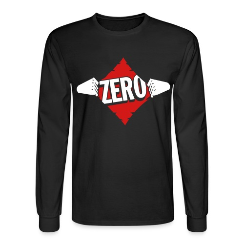 Agent Zero, Our Hero! - Men's Long Sleeve T-Shirt