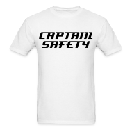 T-Shirts ~ Men's T-Shirt ~ Captain Safety