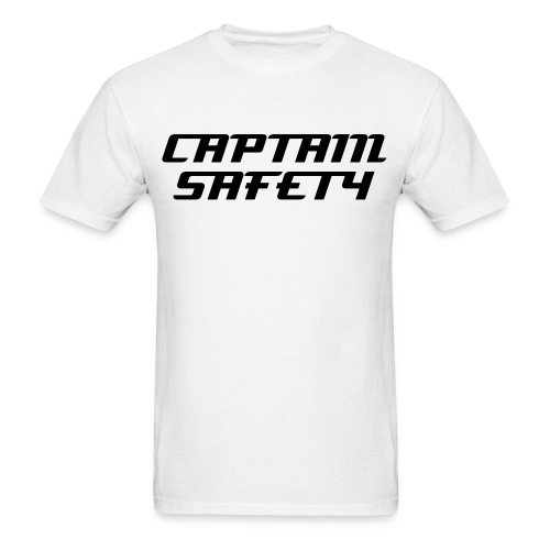 Captain Safety - Men's T-Shirt